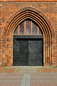 Koenigsberg Cathedral, main entrance
