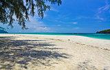 Beach of Ta Ru Tao island,Sa Tun,Thailand