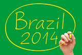 Brazil 2014 Handwriting
