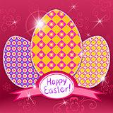 easter paper eggs