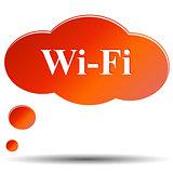 Wi fi web icon