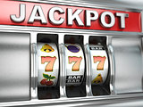 Jackpot on slot machine