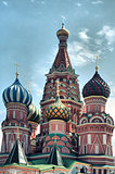 Saint Basil Cathedral at Red Square, Moscow Kremlin, Russia