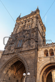 Powder Tower, Prague, Czech Republic.
