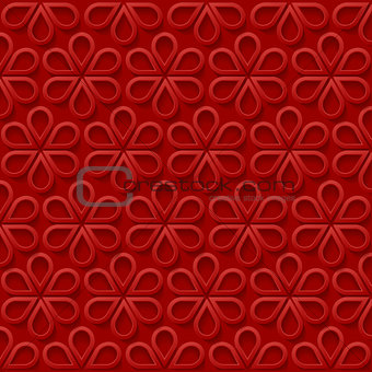 Abstract simple floral background