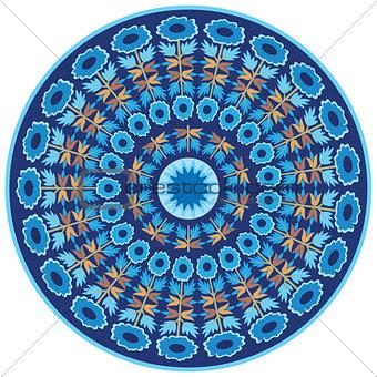 blue ottoman serial patterns twenty-one