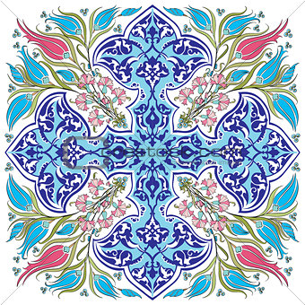 blue ottoman serial patterns twenty-seven version