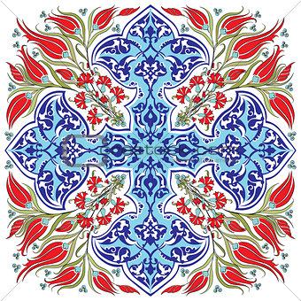blue ottoman serial patterns twenty-seven