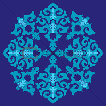 blue ottoman serial patterns twenty-six