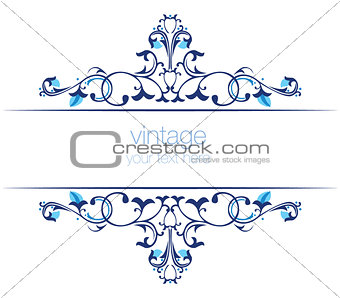 blue ottoman serial patterns twenty-two
