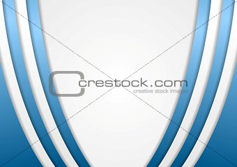Abstract blue and grey background