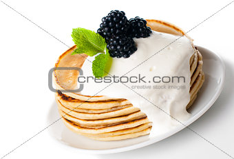 healthy breakfast isolated