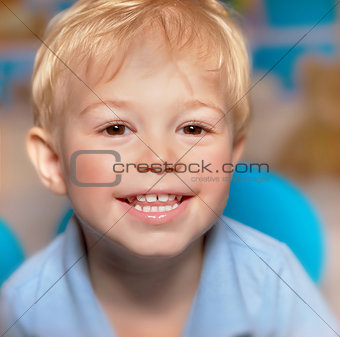 Cute smiling boy