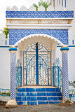 Building with tiles Oman