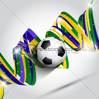 Abstract football or soccer background