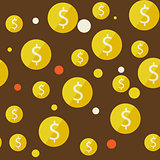 money seamless background