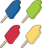Various Popsicles