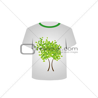 Printable tshirt graphic- Spring tree