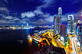 Hong Kong Skylines night