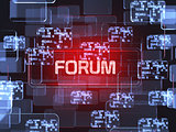 Forum screen concept