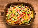rustic capsicum salad
