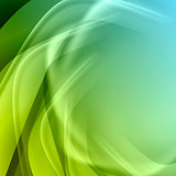 Green blue abstract background
