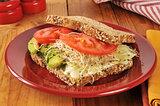 Organic veggie sandwich