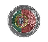 Euro coin, 2 euro