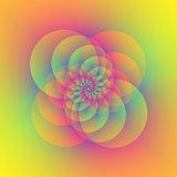Four Circular Spirals