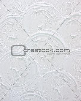 Modern plaster wall