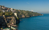 beautiful beach in Sorrento Italy