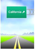 California Highway Sign