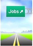 Jobs Highway Sign