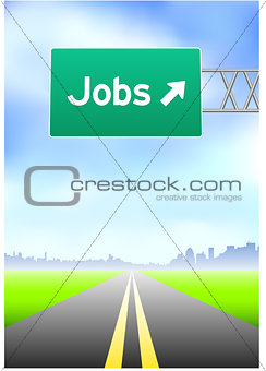 Jobs Highway Sign