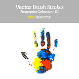 Vector Colorful Hand Shape EPS10 Ready File