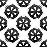 Seamless gears pattern