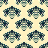Vintage floral seamless pattern background