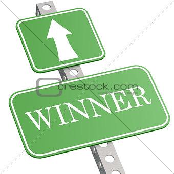 Green sign winner