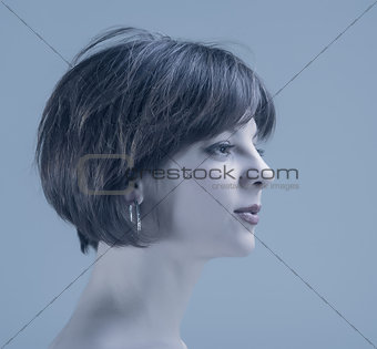 portrait woman