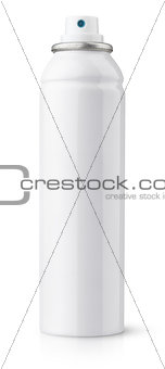 Aerosol spray metal bottle can