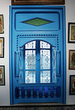 Blue window in Sidi Bou Said