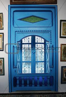 Blue window in Sidi Bou Said