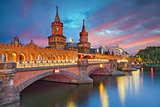 Oberbaum Bridge, Berlin.