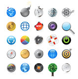 Icons for circles