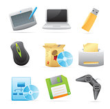 Icons for computer