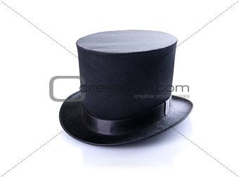 Black classic top hat