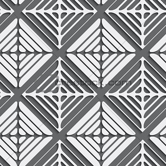 Gray seamless ornament