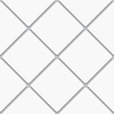 Seamless white diagonal square tiles