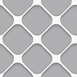 Seamless white diagonal wide square
