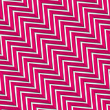 Seamless zigzag wide magenta with long shadow and fold